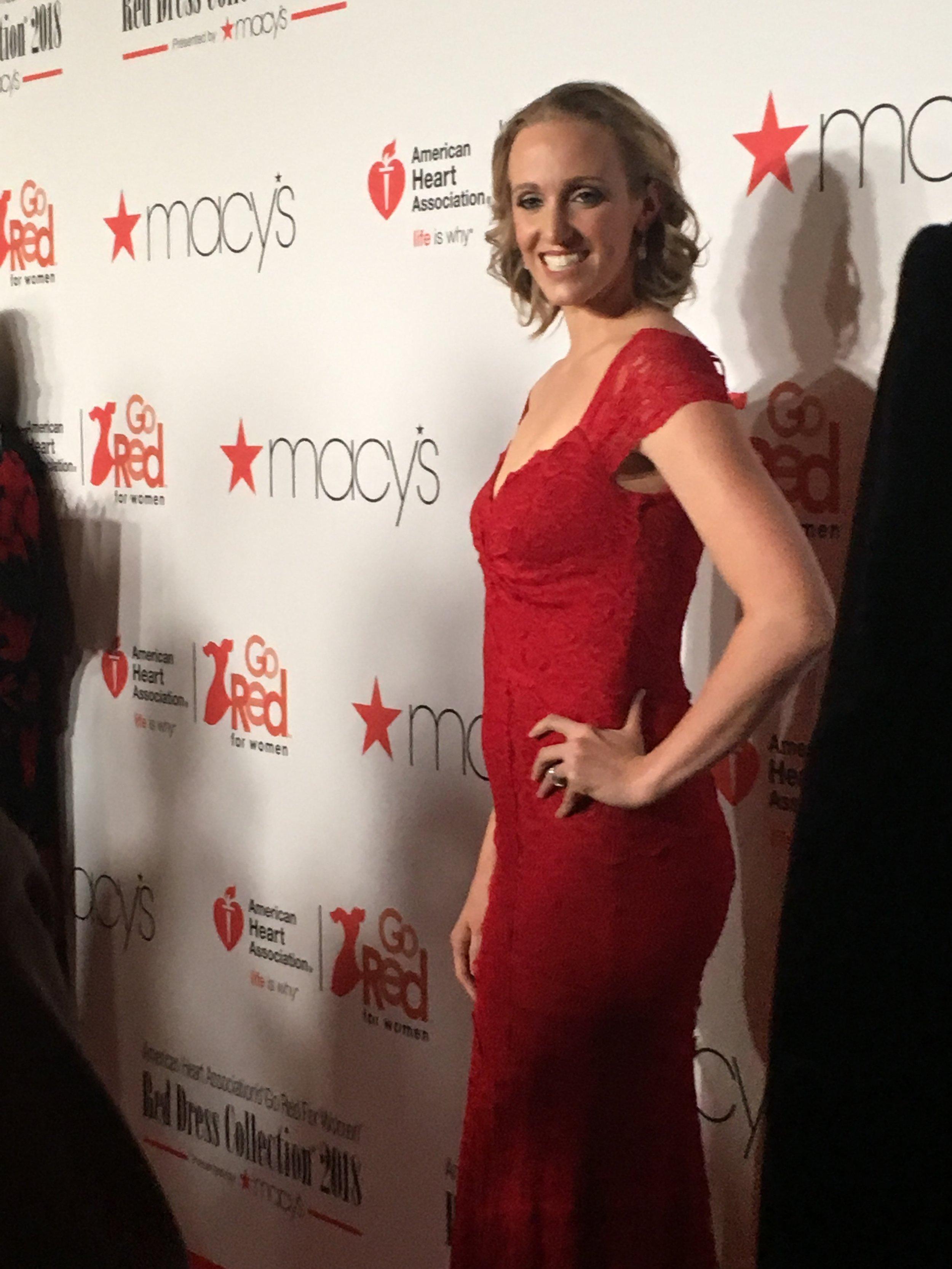 Dana Torres on red carpet.JPG
