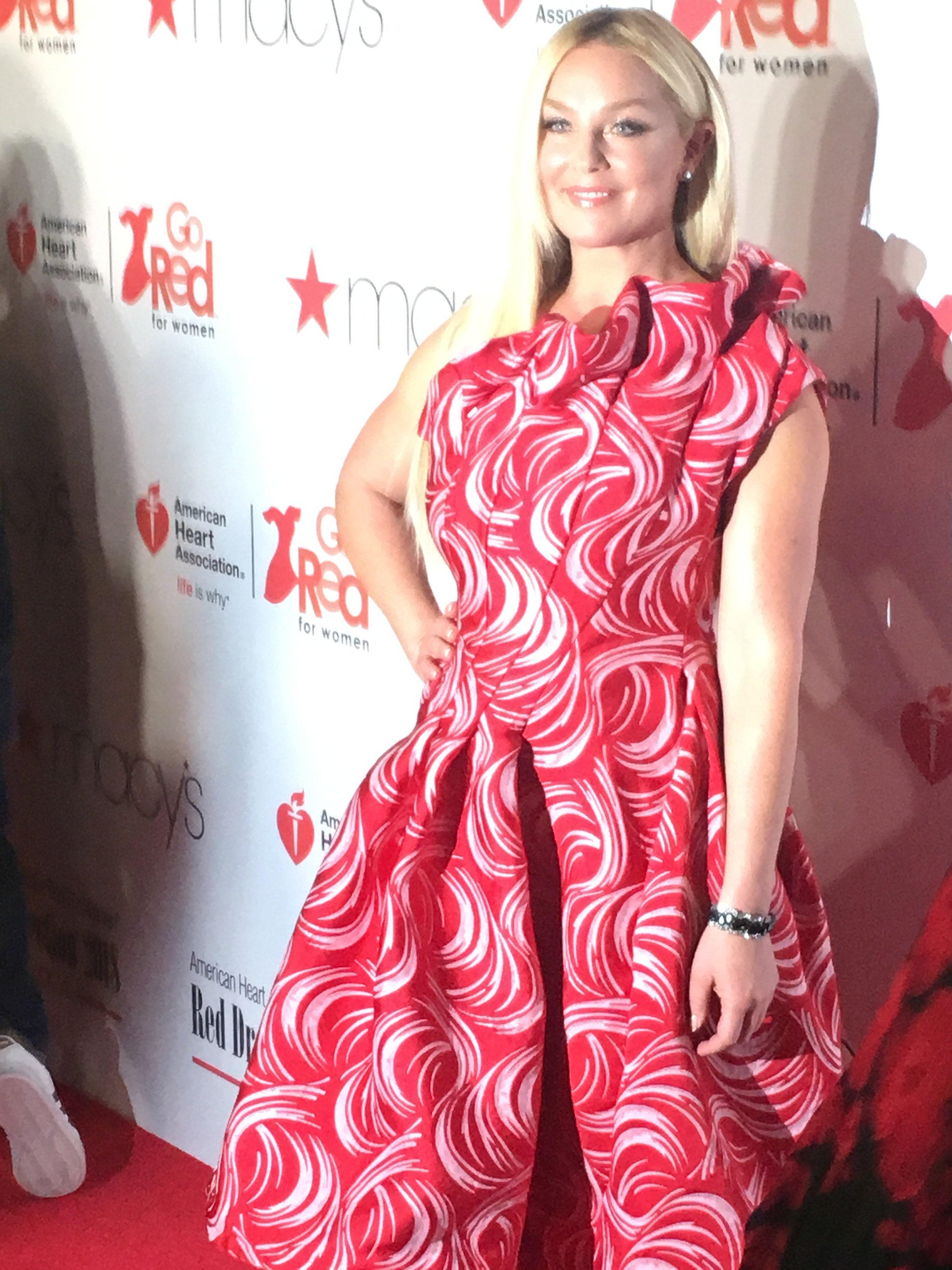 Elisabeth Rohm red carpet.JPG