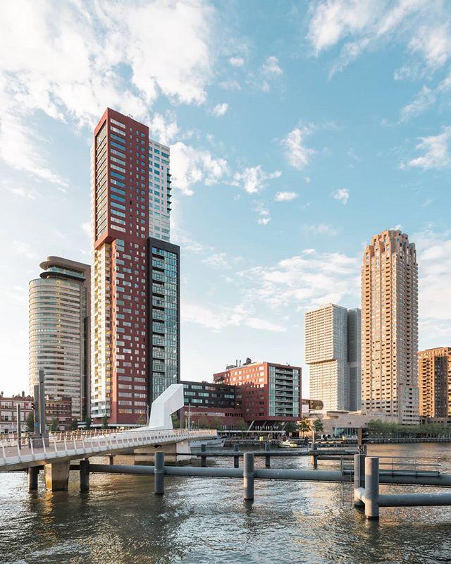Architectural arrangement. • • • #gestaltes #rotterdam