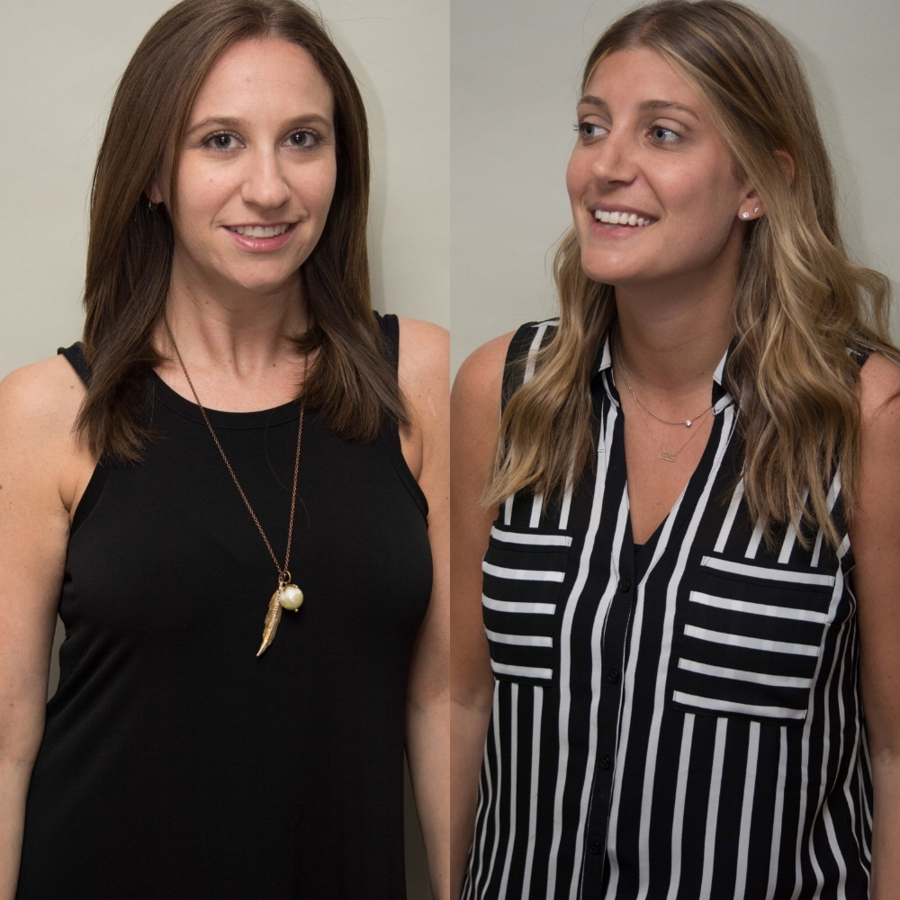 Molly Barnett (left) and Chelsea Nachman (right)