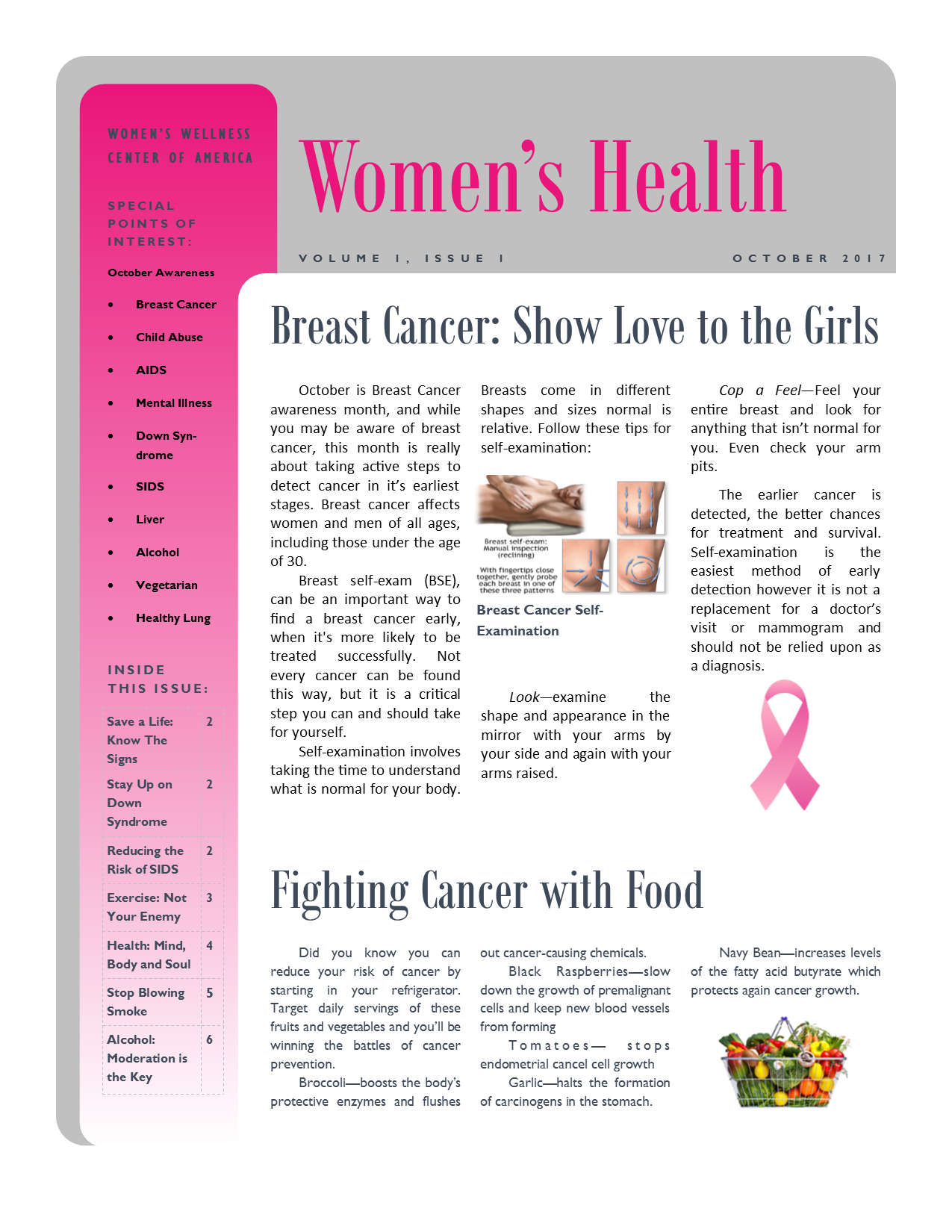 Multi-Page Newsletter 1 of 4