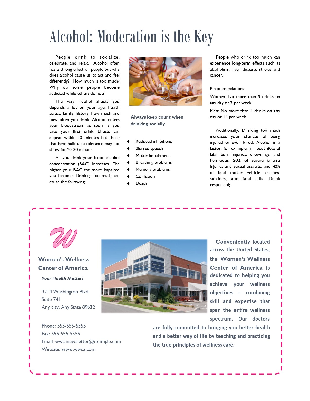 Multi-Page Newsletter 4 of 4