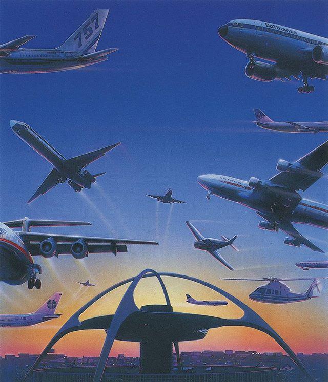 Jeff Wack 1991  #90s #Design #Airbrush #Scan