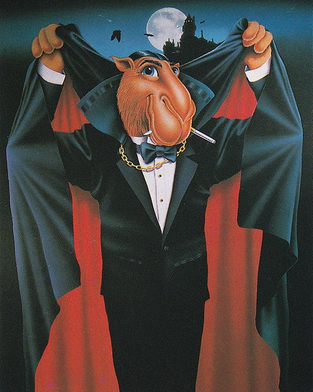 Thierry Thompson 1993  #90s #Design #Airbrush #Camel #Scan