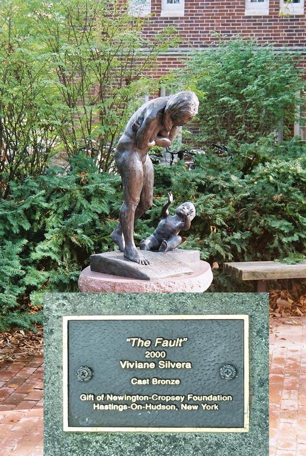 """""""The Fault"""". Permanent Installation at Vanderbilt University - 2000"""