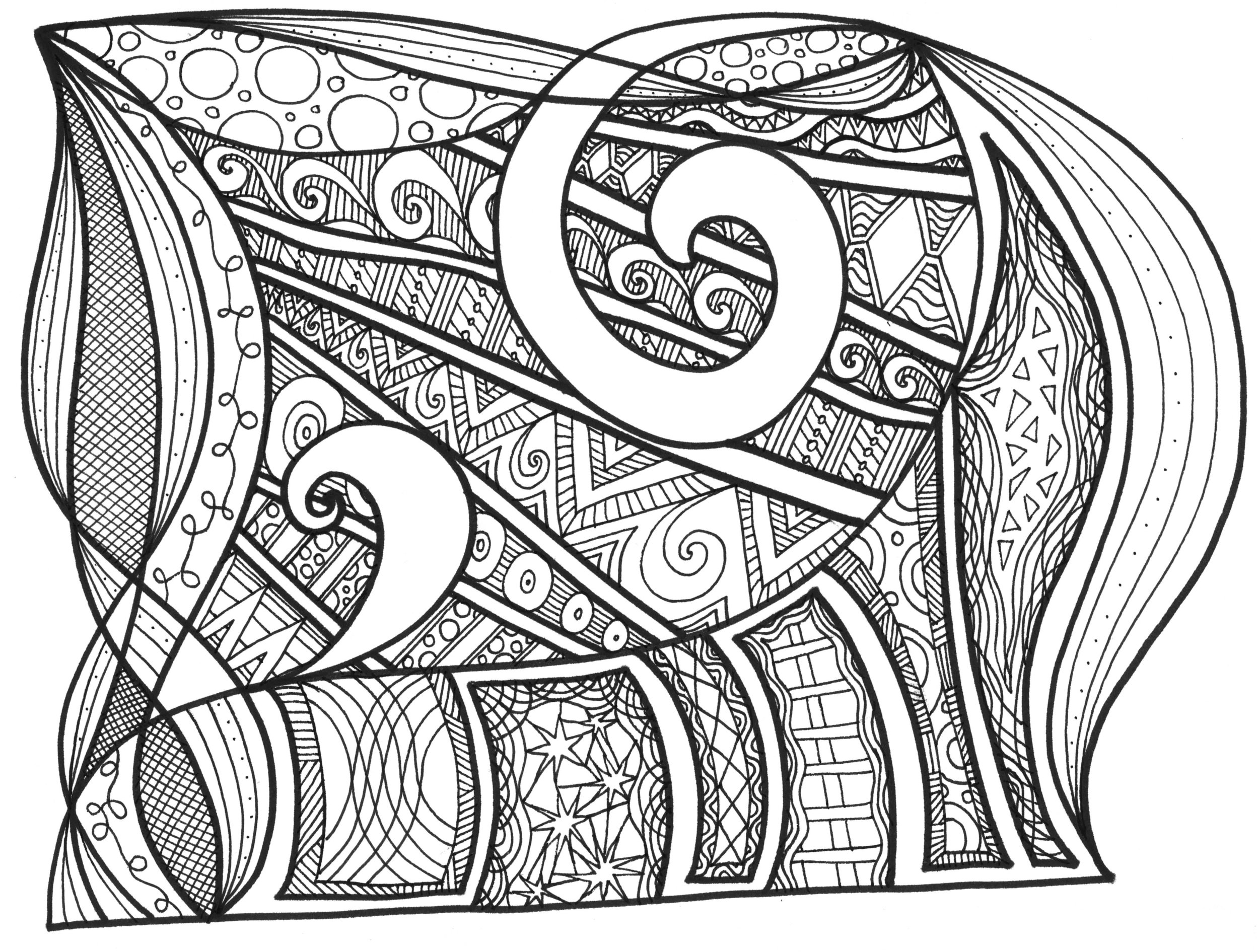 Zentangle Swirls