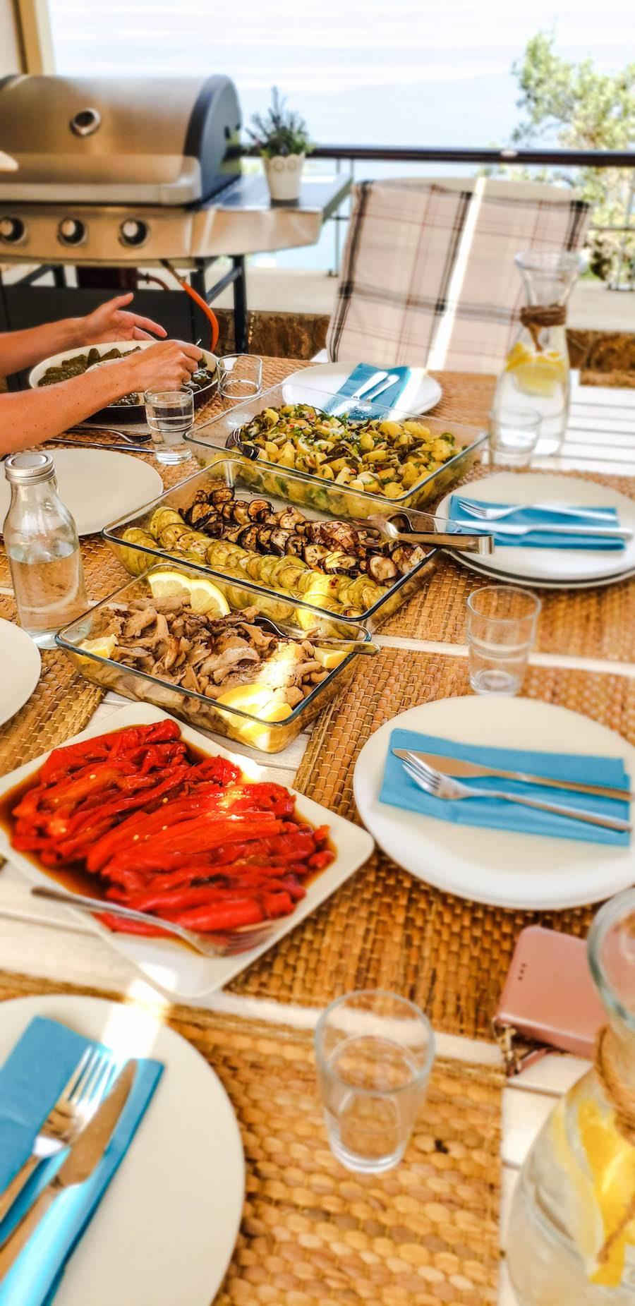 Vegetarian Retreat Menu