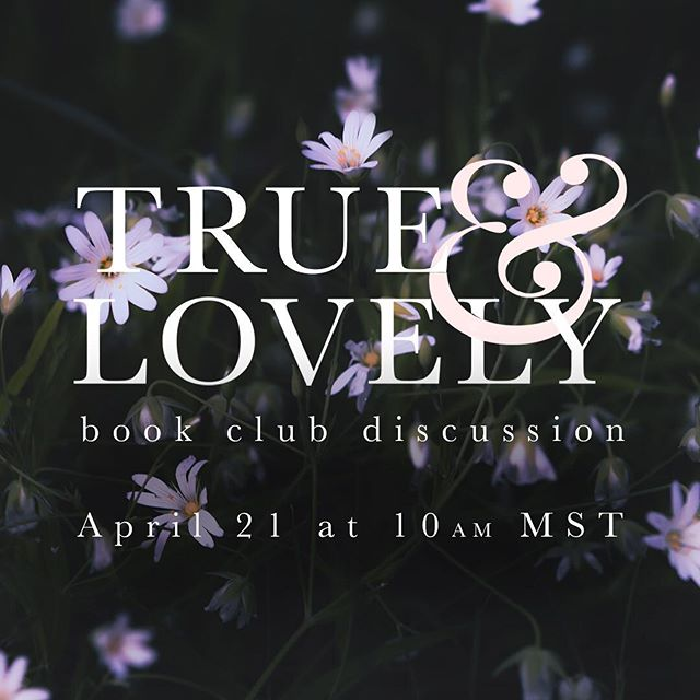 Our first T&L Instagram Live Book Club Discussion is tomorrow! Join us here at 10am MST. Let us know in the comments below if you're planning on joining!