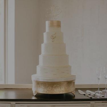 Cake. -