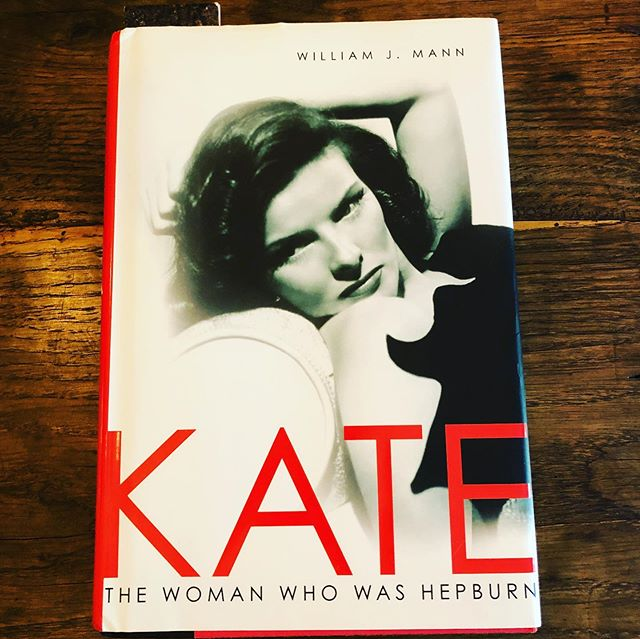 Summer reading...outside of my usual rock bio's. #katherinehepburn #hollywoodherstory #goldenageofhollywood