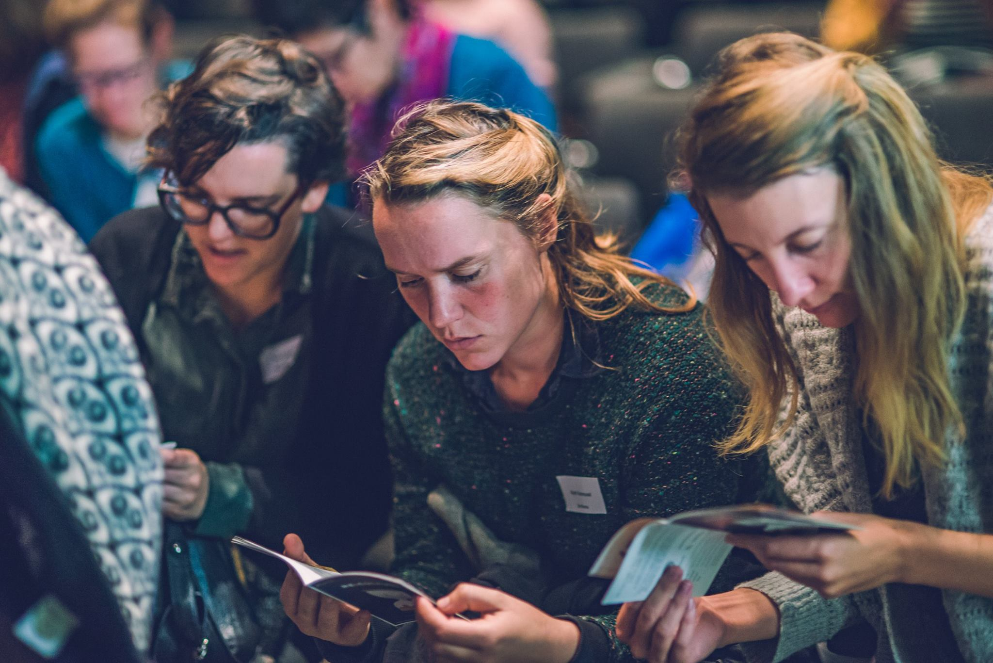 Ellen Fransen, Ruth Vanreusel en Flore Sfeermaekers ©Joachim De Wilde