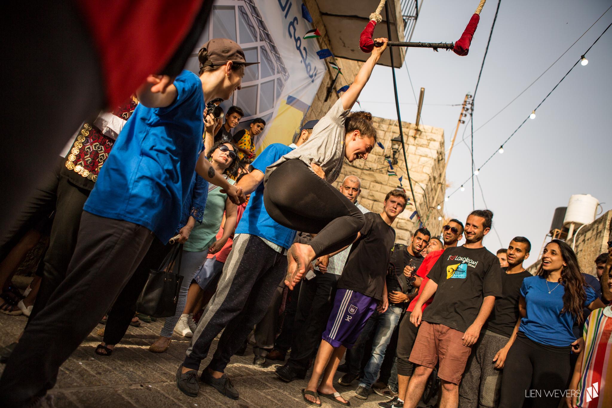 Opening Birzeit Heritage Week, 12/7/17 © Lien Wevers