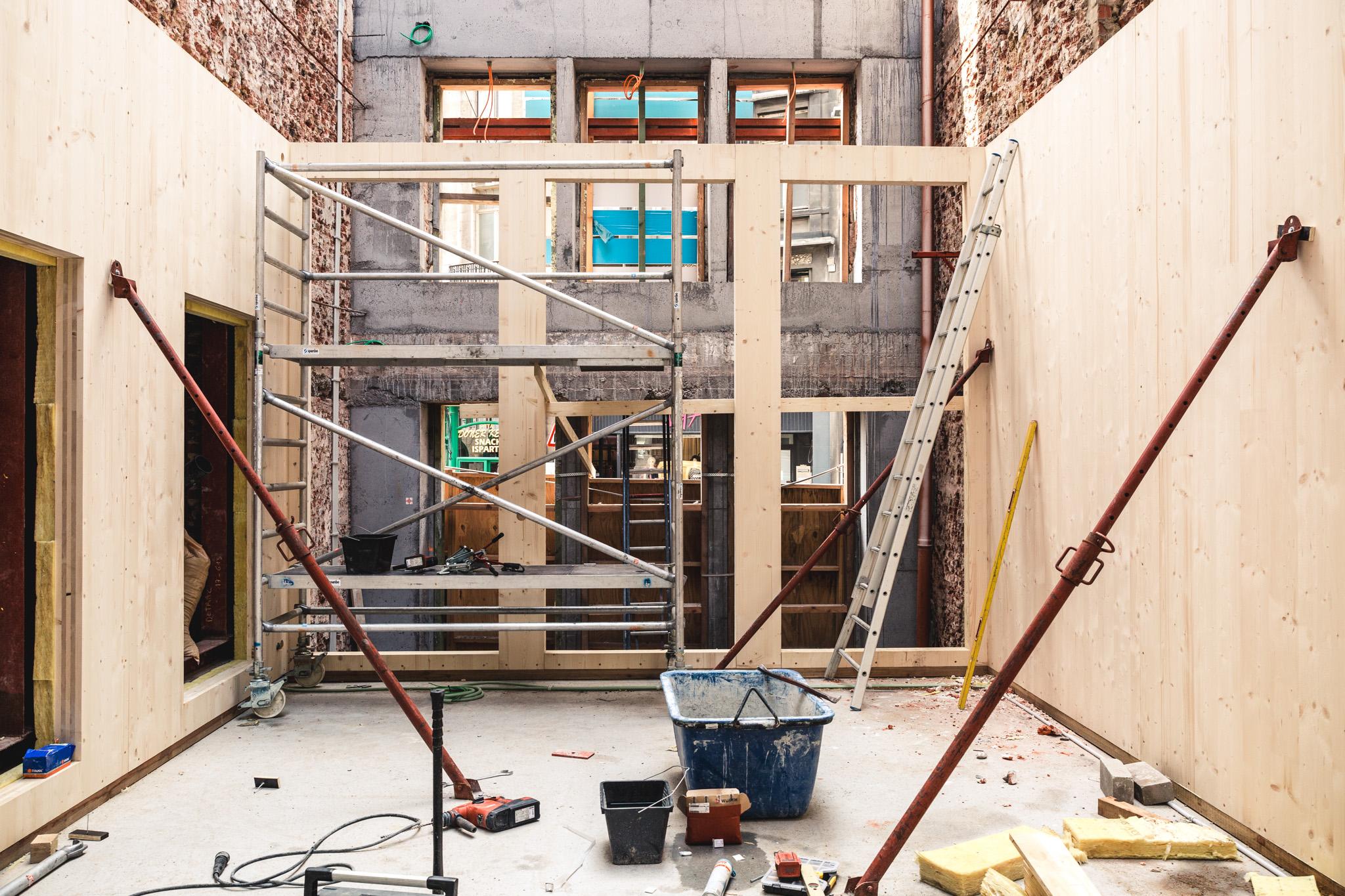 Verbouwingen Kunstencentrum Vooruit © Michiel Devijver