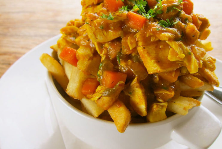 Chicken Curry & Chips