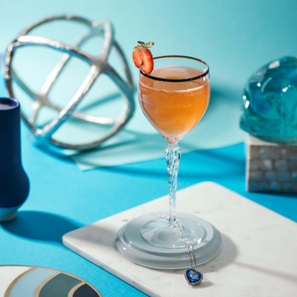 The CeCe - 0.75 oz Cointreau1.5 oz Rémy Martin 1738 Cognac0.75 oz fresh lemon juice0.25 oz simple syrup3 slices fresh strawberry1 dash Angostura bitters2 oz Prosecco Muddle strawberry slices in simple syrup in a shaker. Add all remaining ingredients - except Prosecco - and shake with ice. Strain into a chilled cocktail glass. Top with Prosecco.