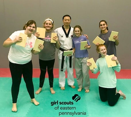 Had a great time working with the girl scouts this past week. Glad to have our partnership and be able equip our youth with tools to empower themselves. #girlscoutsofeasternpa