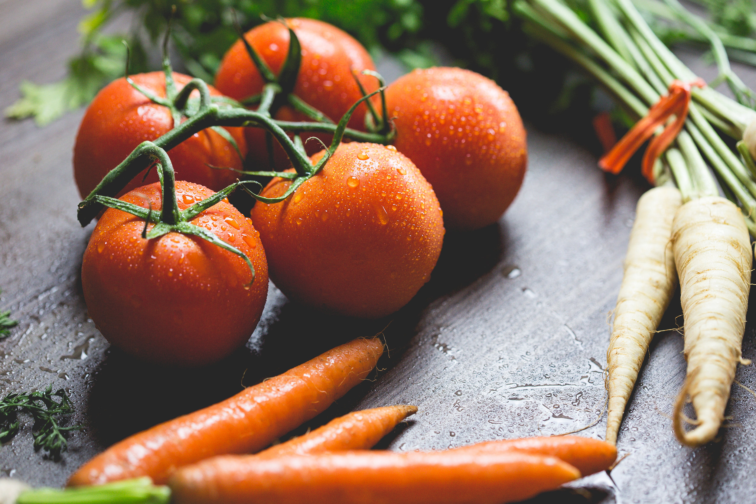 A cancer-fighting diet consists of mostly fruits and vegetables.