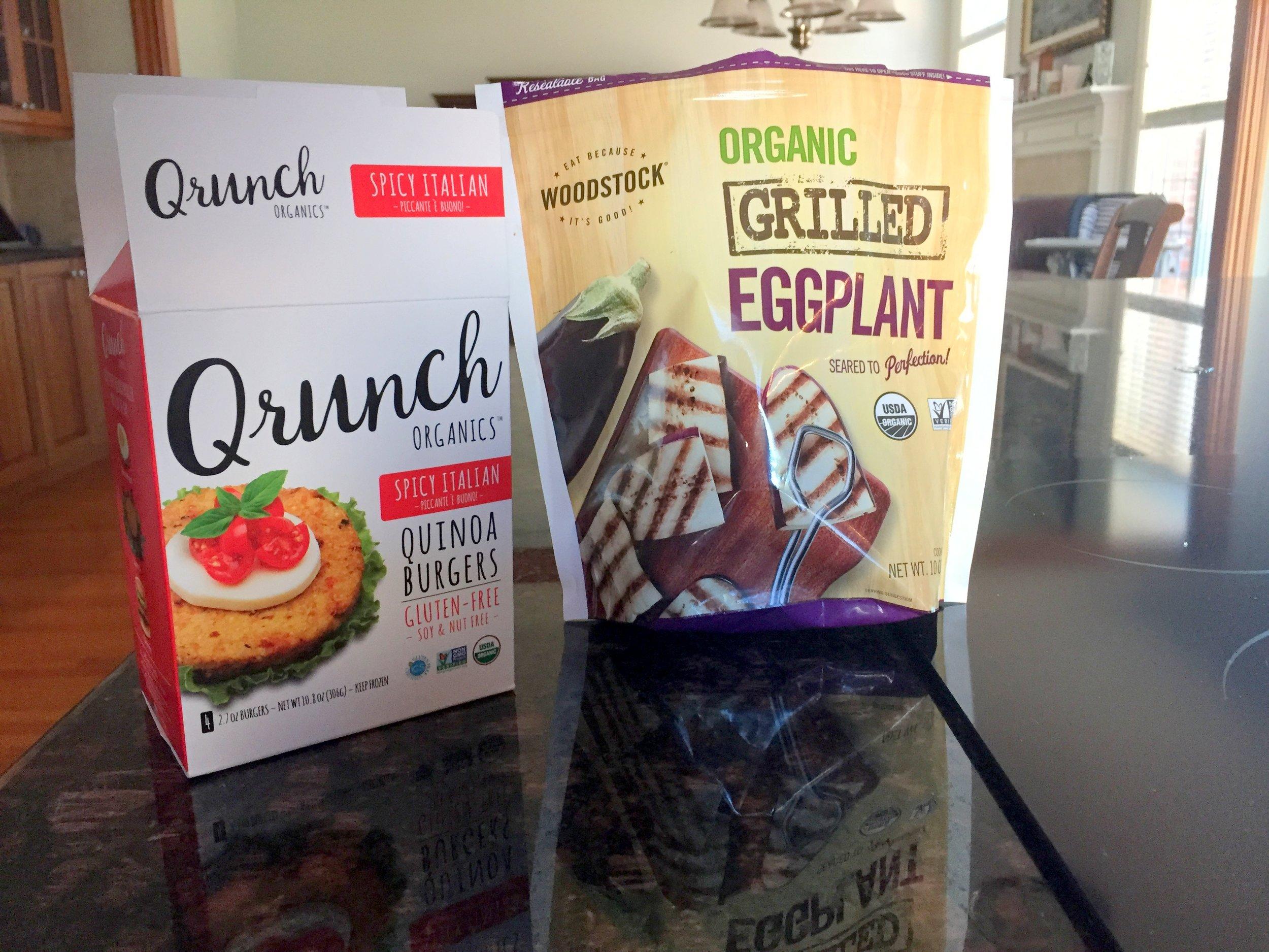 qrunch quinoa burgers