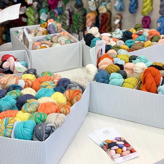 Have yarn, will travel! #yarntasting @knitsfabulous