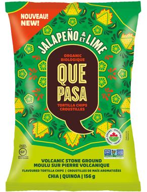 Que Pasa Jalapeño & Lime Organic Tortilla Chips