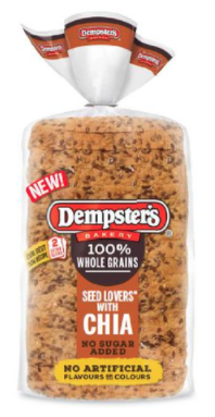 Dempster's 100% Whole Grains Seed Lover's Bread with CHIA