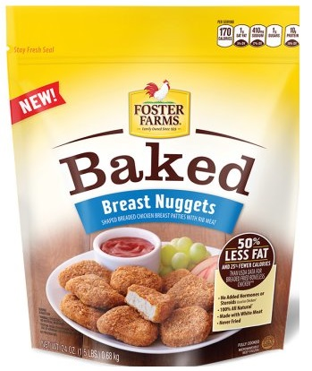 Foster Farms Frozen Baked Chicken Nuggets