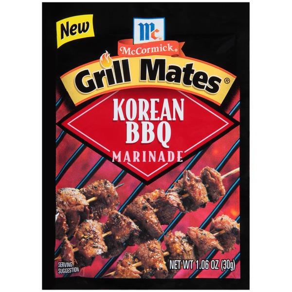 McCormick Grill Mates Korean BBQ Marinade