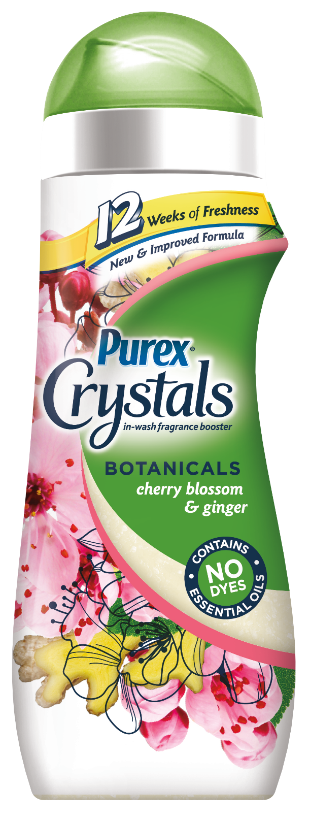 Purex Crystals Botanicals Cherry Blossom and Ginger