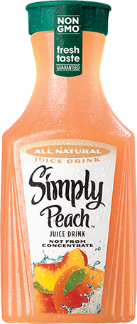 Simply Peach Juice Drink