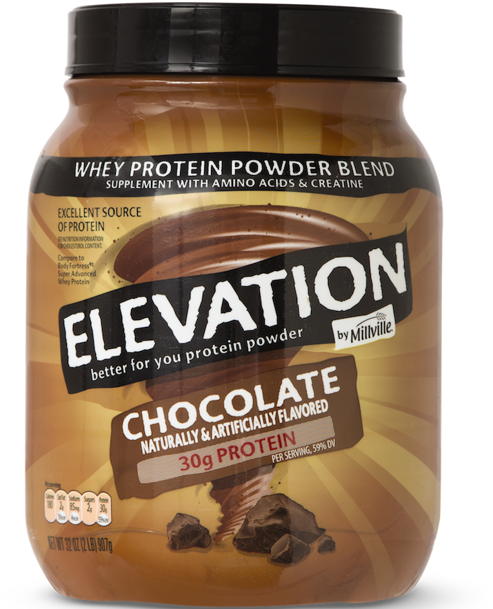 ALDI Elevation by Millville Protein Powder