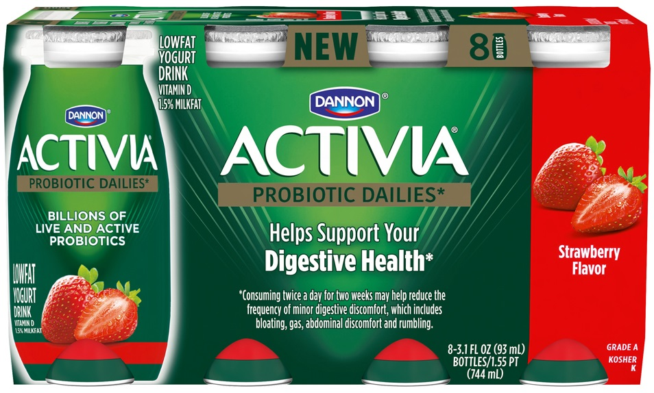 Dannon Activia Dailies Probiotic Drink
