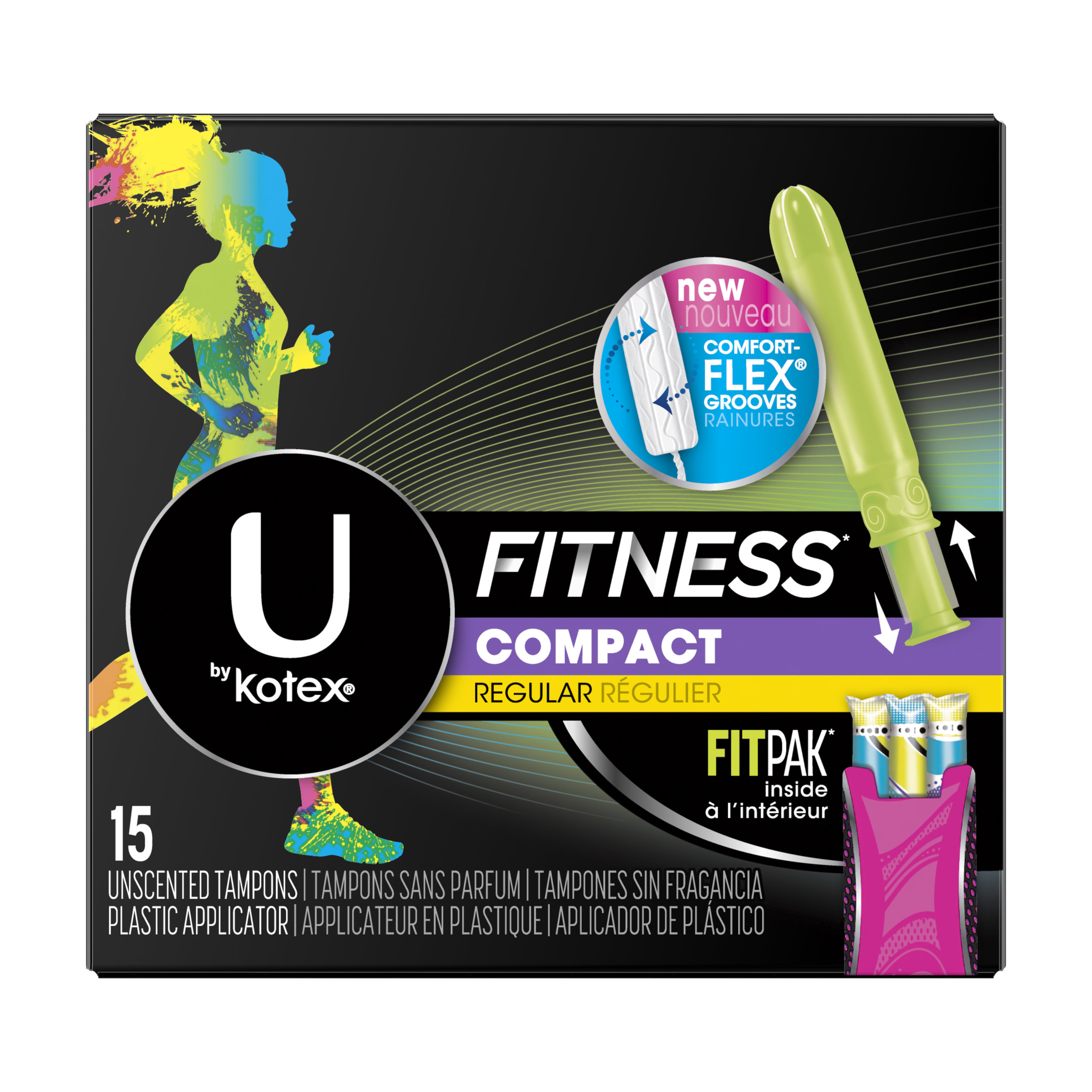 U by Kotex Fitness Tampons with FITPAK