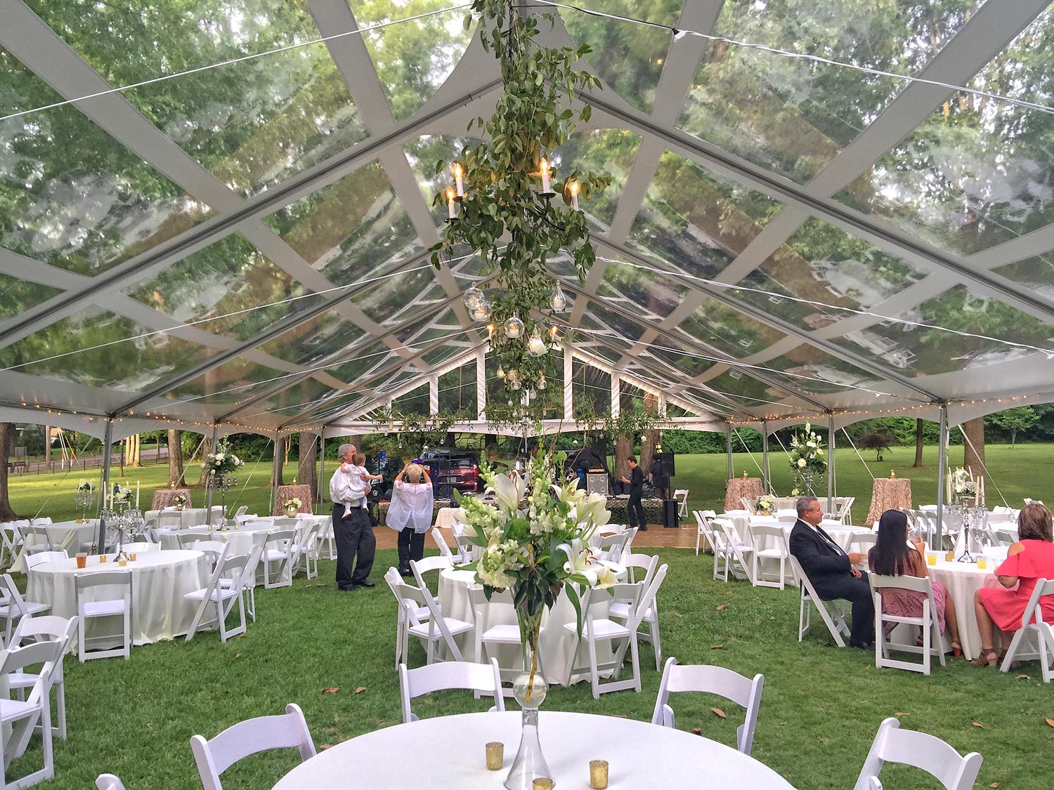 Wedding Tent Rentals with Regel and Company