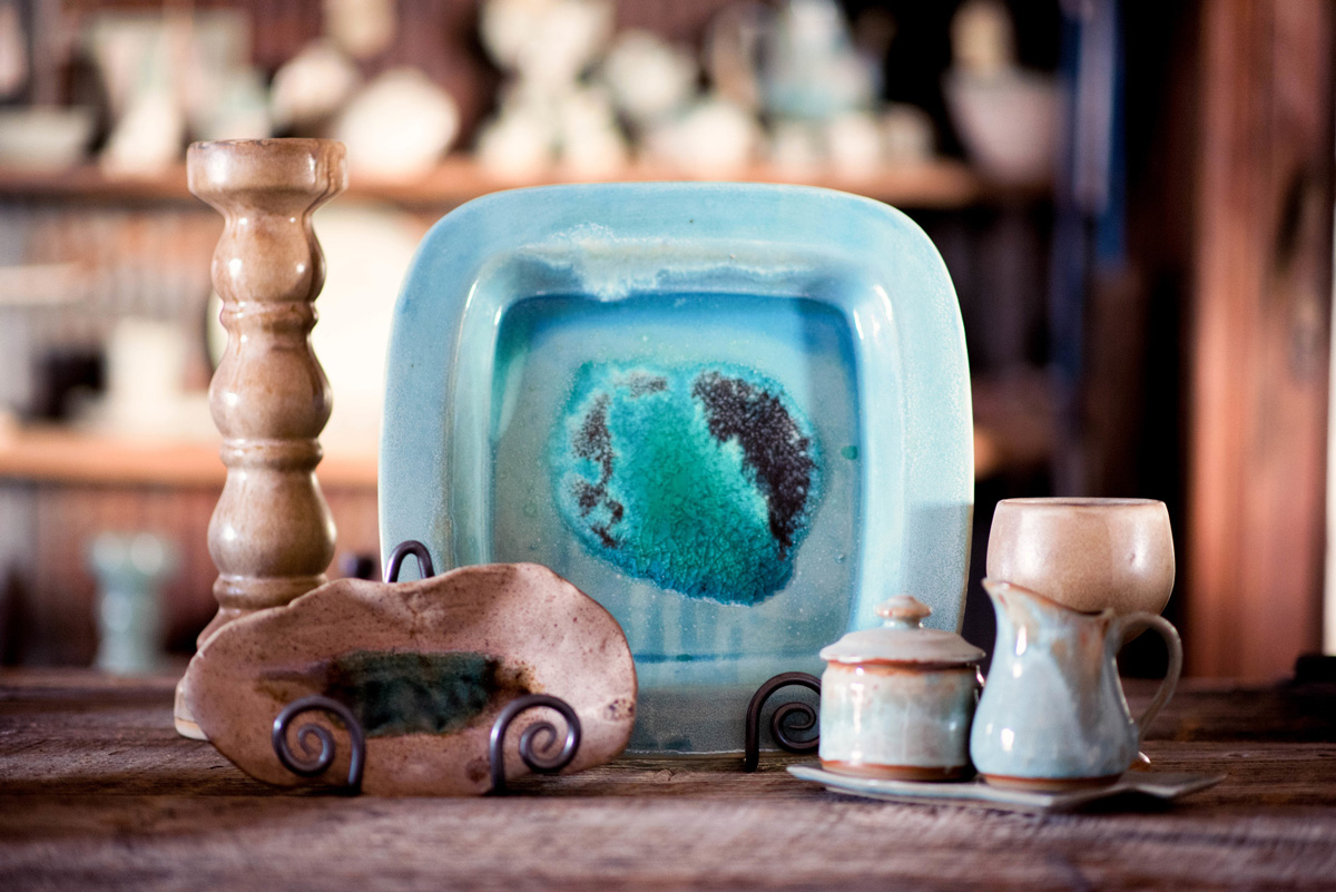 Satterfield Pottery at Regel and Company