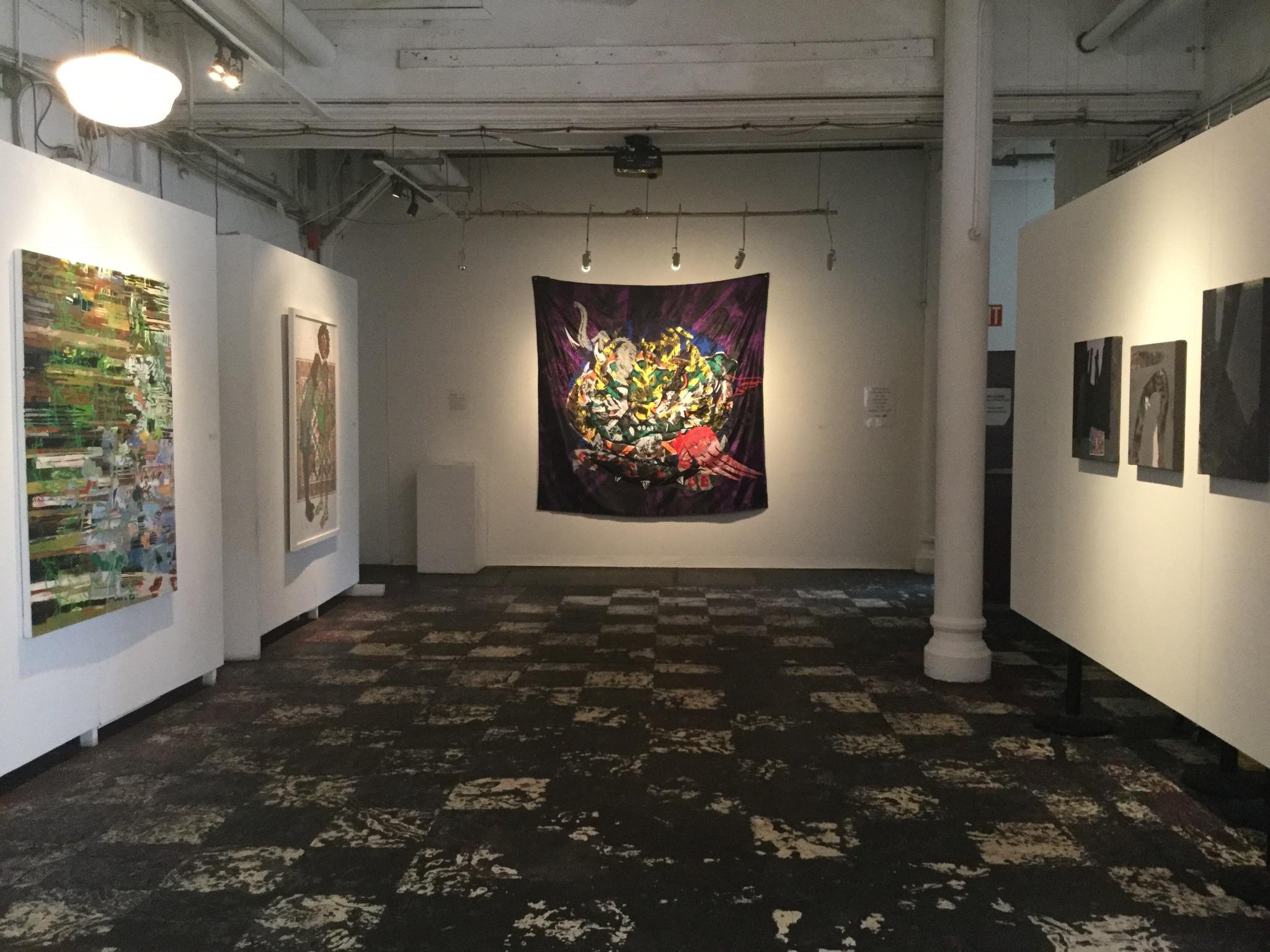 installation shot (downstairs)