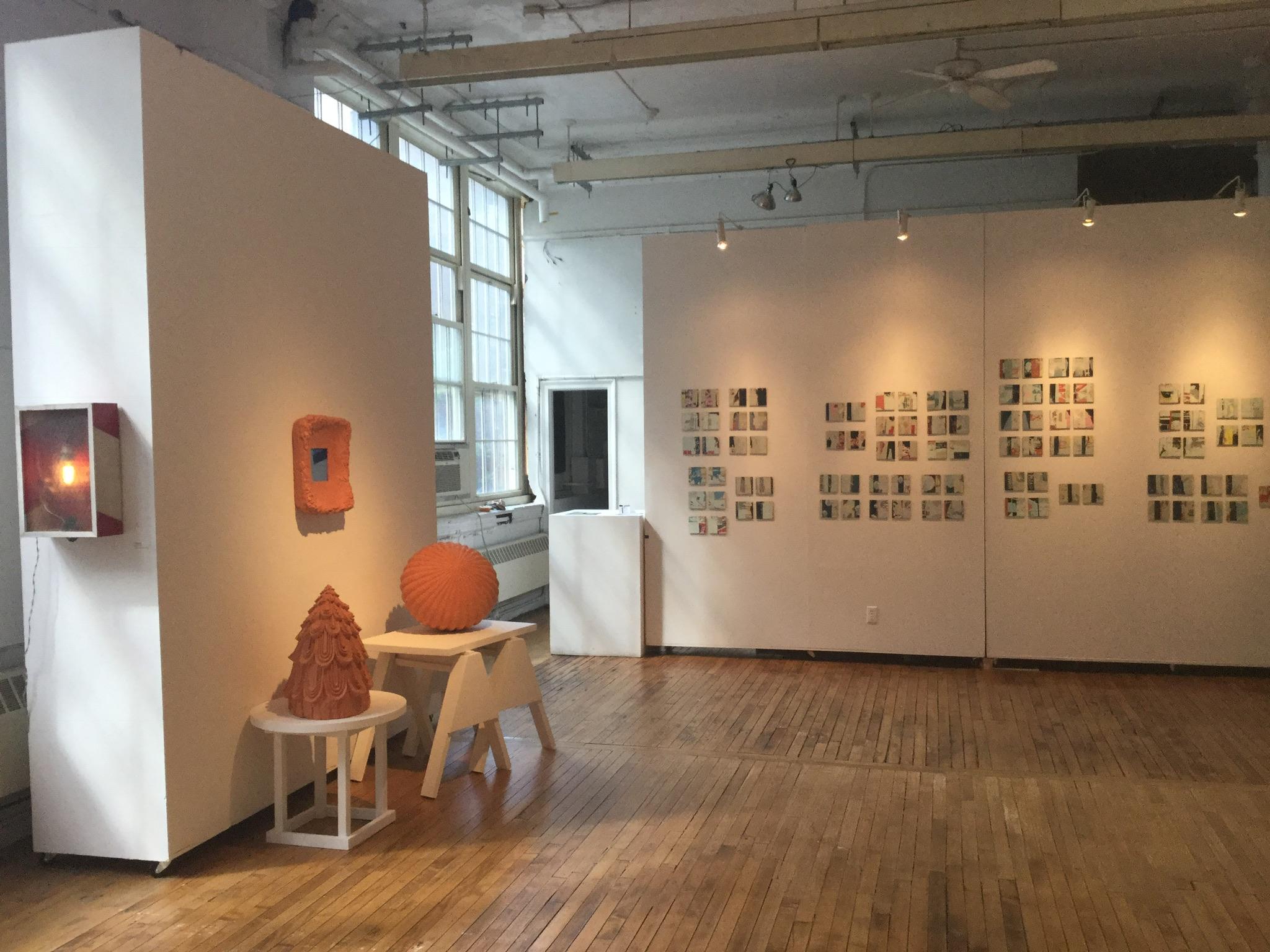 installation shot (upstairs)