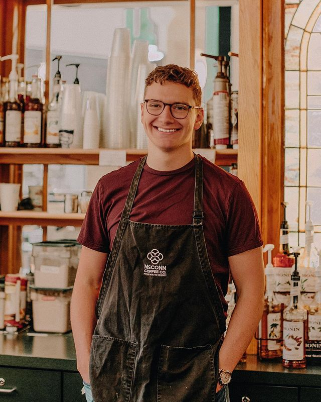 Our barista of the week is Matt VanNess. Matt is an incredibly hard worker and is so helpful. His coworkers say that he is hilarious and energetic behind the bar, always ready to offer the best joke. Thanks Matt and congratulations!