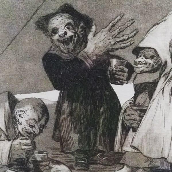I discovered Goya today.