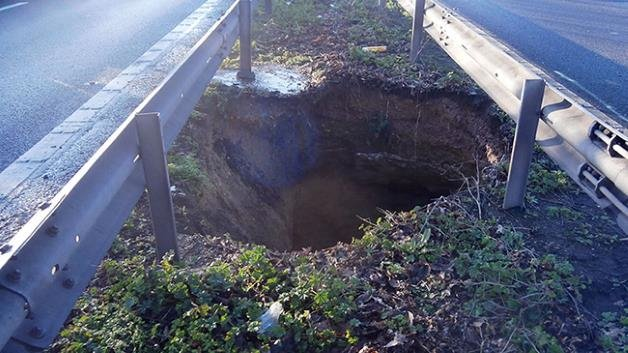 Photo 2 an example of a similar sinkhole