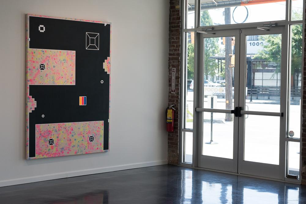 Killskreen 1.205 (installation Shot, Hathaway Gallery, 2019)