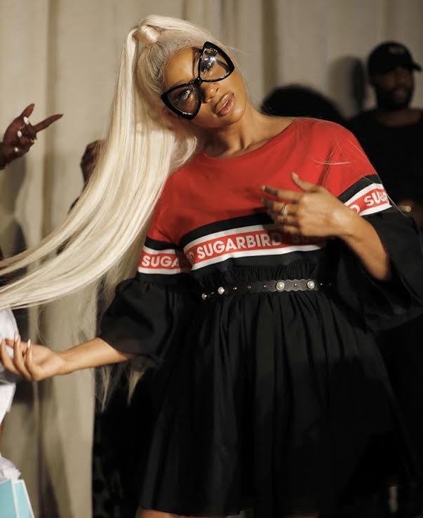 D.W. SnapShot snapped a picture of Love and Hiphop Atlanta Star Tommi At NYFW