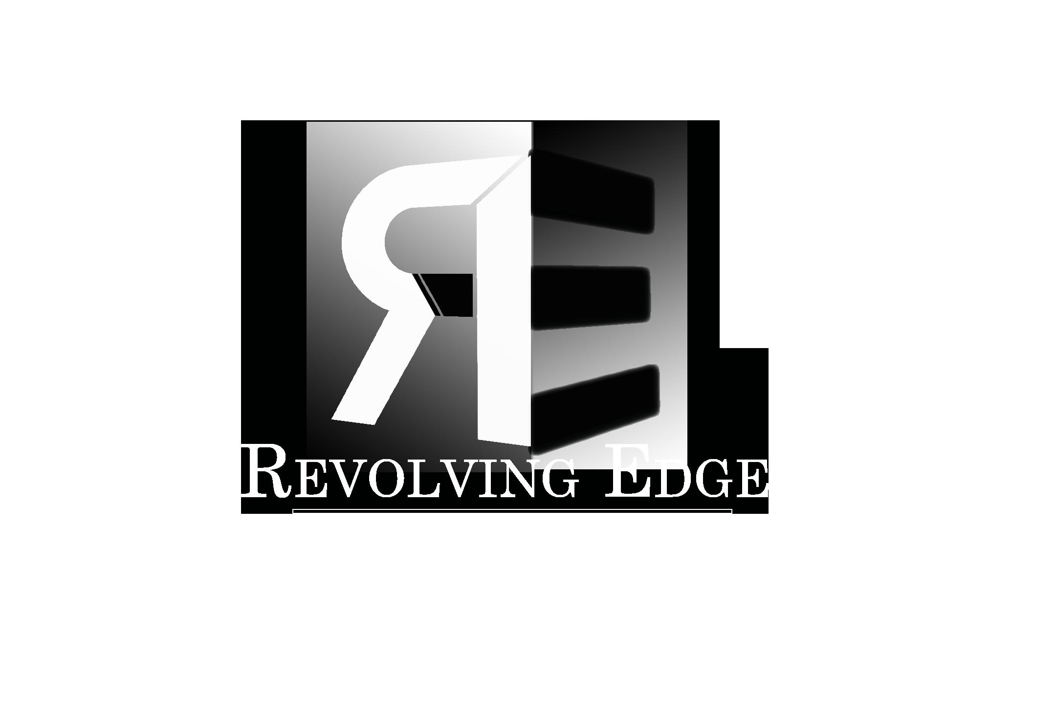 revolving edge logo bw 2.png