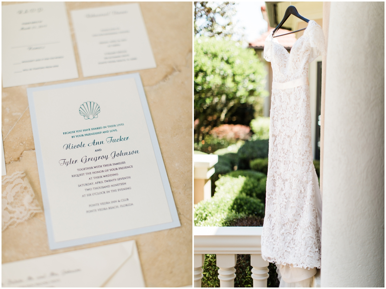 Ponte Vedra Beach Wedding Details