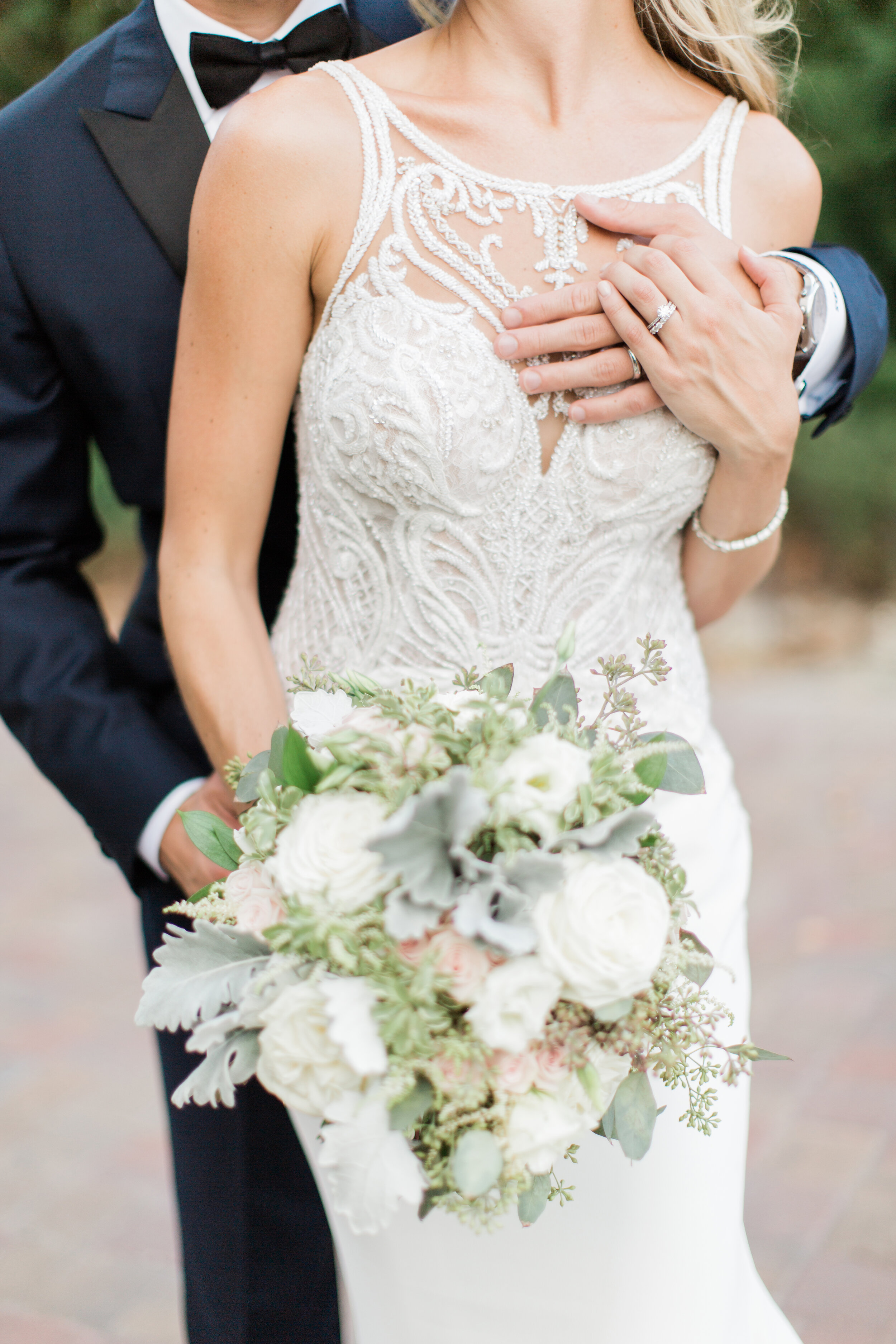 Photographer:  Brooke Images  | Florist:  Rose of Sharon Wedding and Event Florals