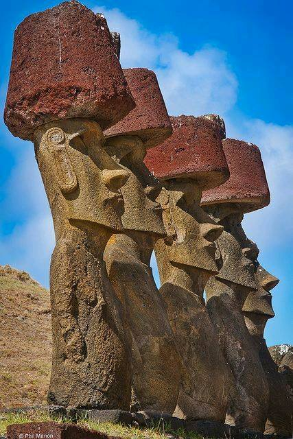 Mo'ai, are monolithic human figures carved by the Rapa Nui people - Moai , or Mo'ai, are monolithic human figures carved by the Rapa Nui people on Easter Island in eastern Polynesia between the years 1250 and 1500 CE.