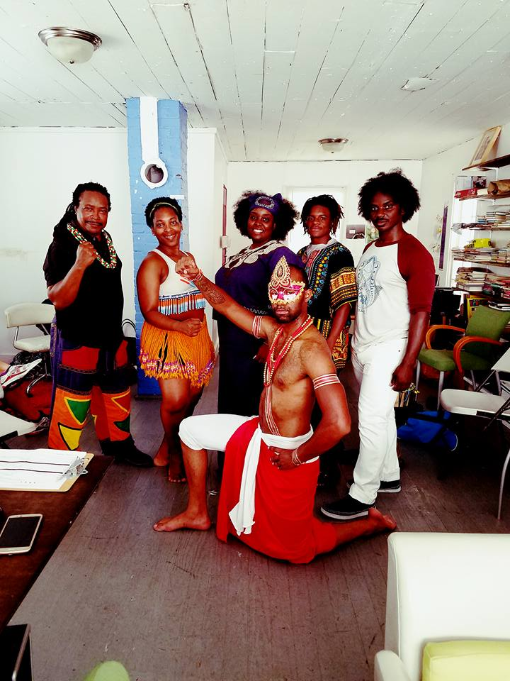 We have in this picture cultural showcases representing West Africa, South Africa, Cuba, Autochthonous Moorish American