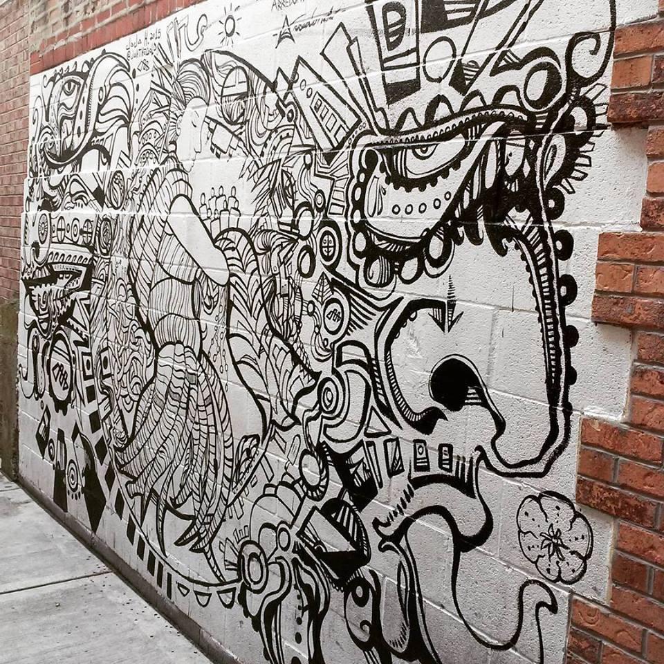 Mural collaboration with Juan Carlos Arredondo _ Jaja Gray harbeeliquors in Chicago IL.jpg