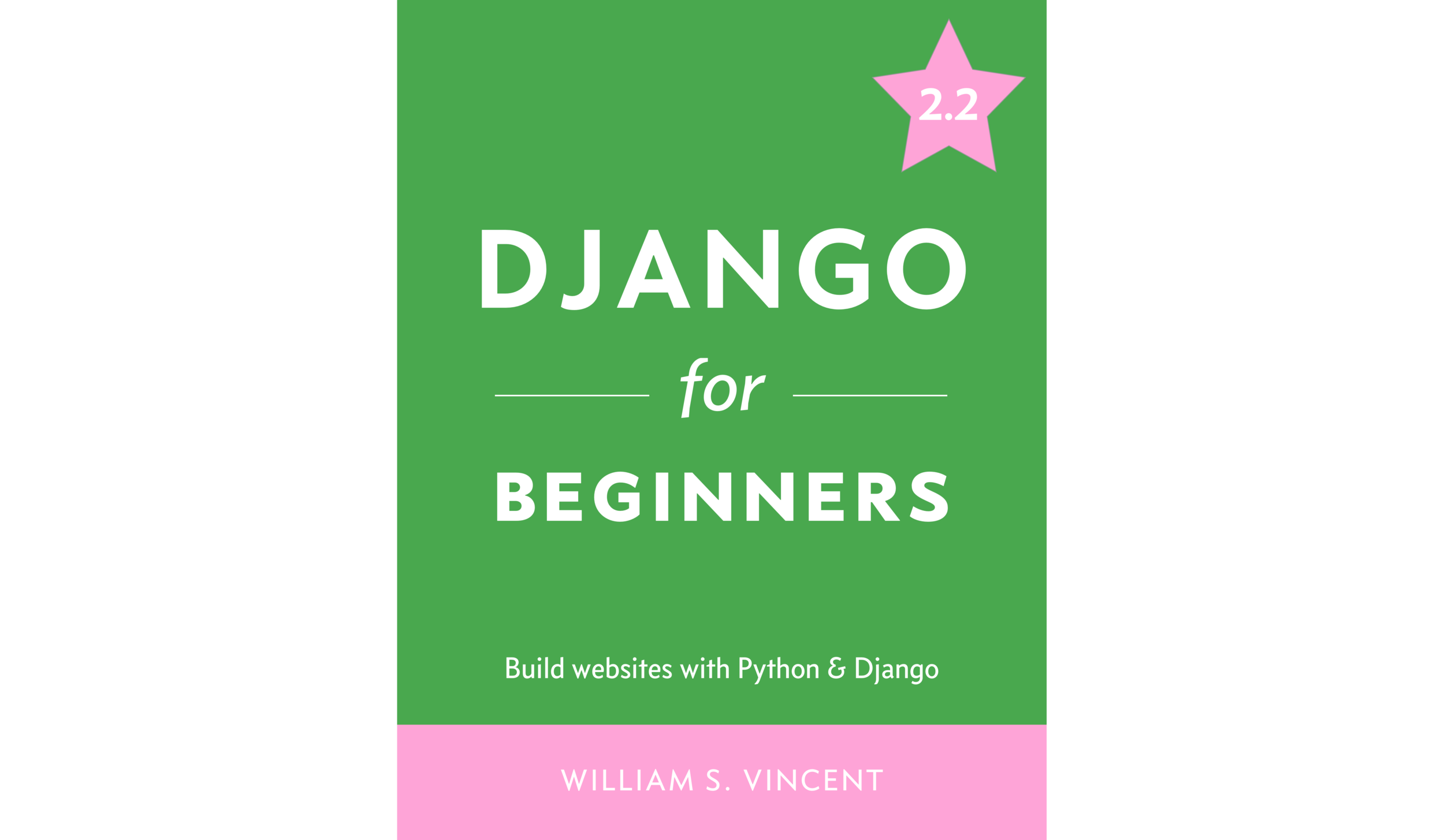 Django for Beginners - This is the best book I was able to find on learning Django, a Python-based web framework.While many other resources assume that you have some knowledge of web development, this book does not.I like how it explains even small things carefully. For example, it has a really clear explanation about how URL pattern matching works in Django.If you click this link right here, it will bring you to the purchase page of this book.He also has a few free sample chapters here.