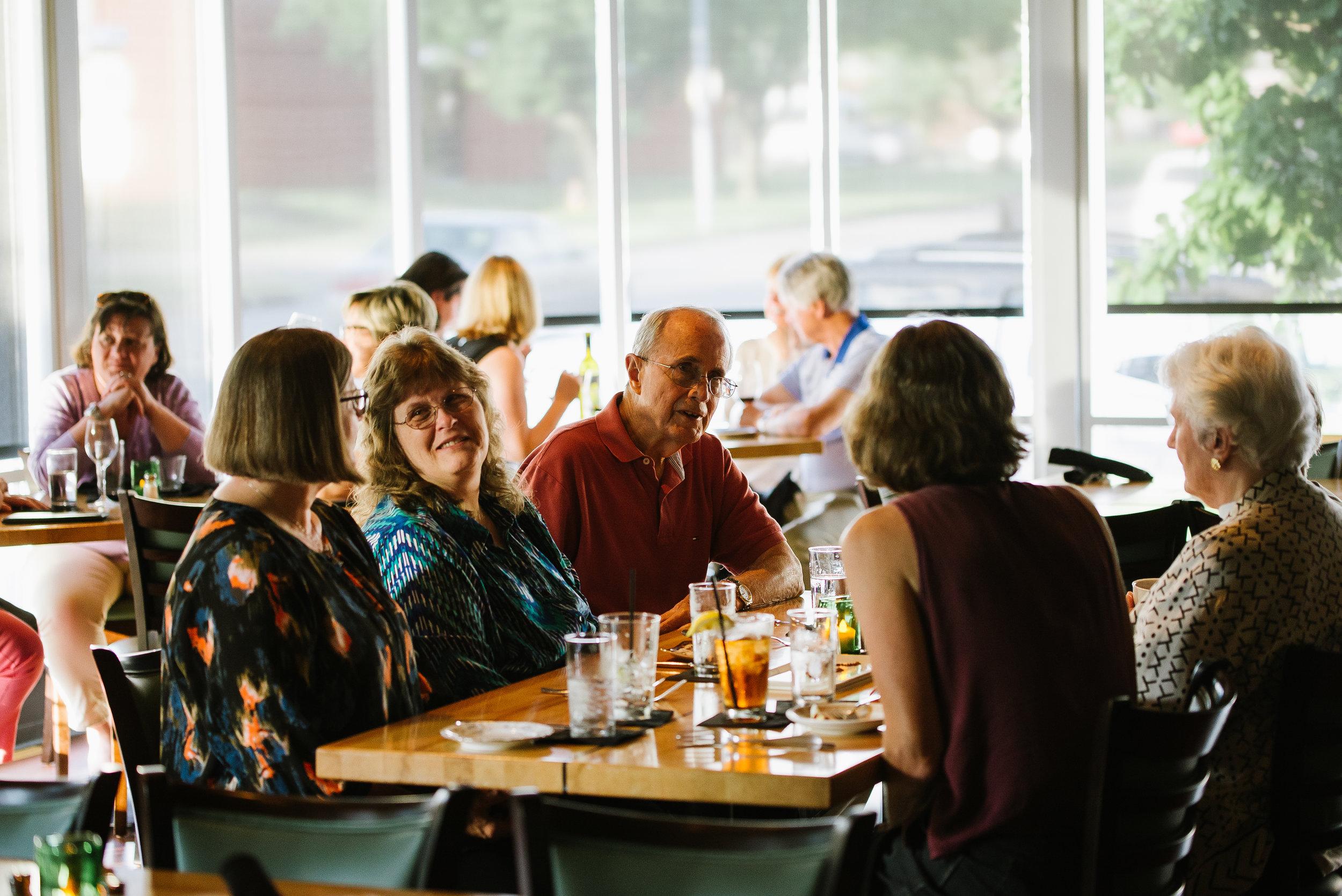 Alba Des Moines, Iowa Restaurant Table 6