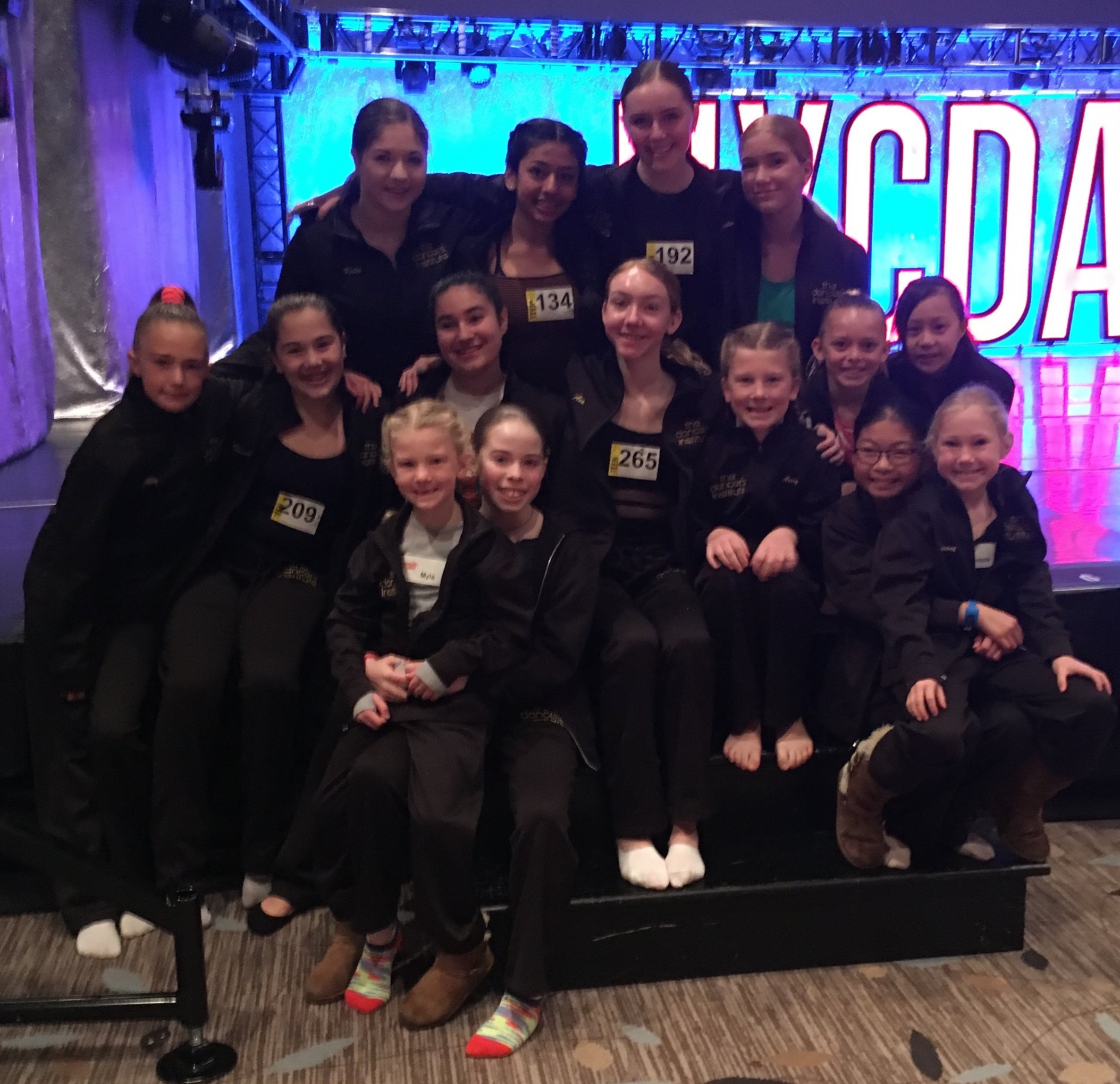 The Dancer's Institute Performance and Competition Team 2018/2019 at NYCDA, March 1-3, 2019.